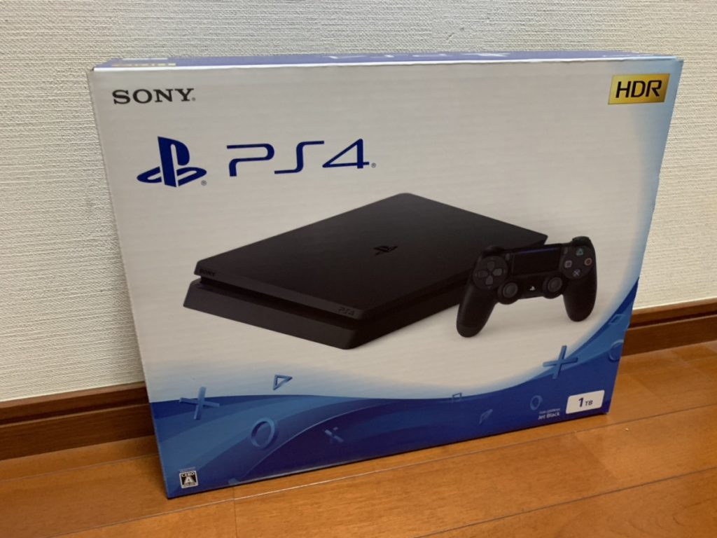 PS4を買った話。のアイキャッチ
